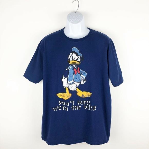 Donald Duck T Shirt Mens XL Disney Store